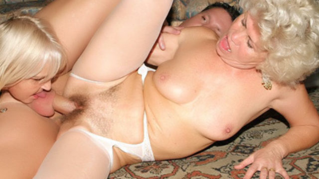 Matures In Lingeries Three-means