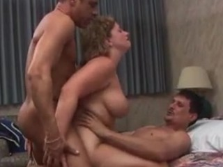 Mature Damsel With 2 Fellows