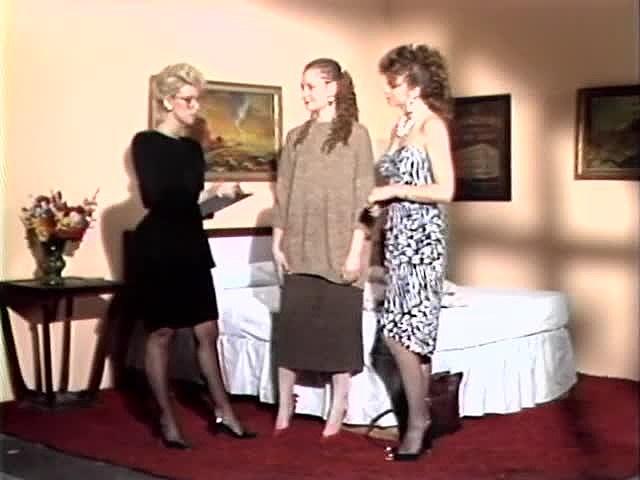 Alexa Parks, Alicia Monet, Porsche Lynn In Antique Orgy Tweak