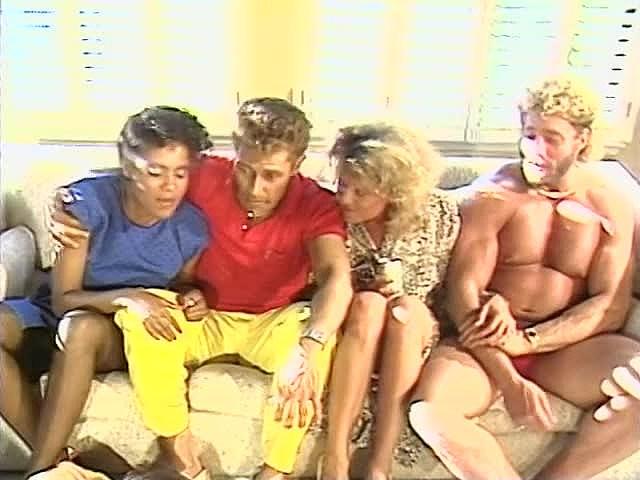 Frankie Leigh, Jeannie Pepper, Kim Alexis In Antique Pornography Flick