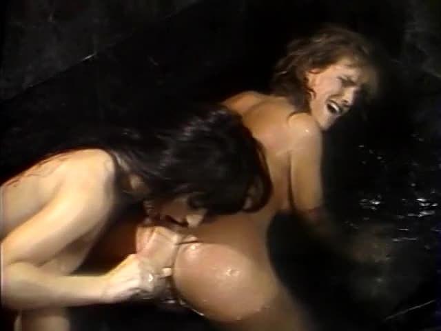 Aja, Candie Evans, Erica Boyer In Antique Hard-core Clamp